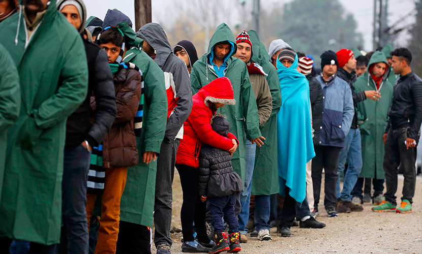 Финны не пропустили через границу 90% прибывших через Россию беженцев