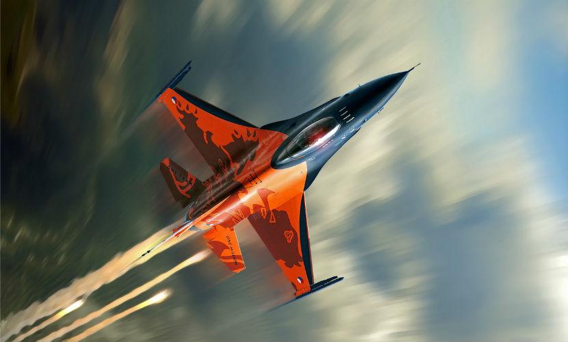 В США потерпел крушение истребитель F-16