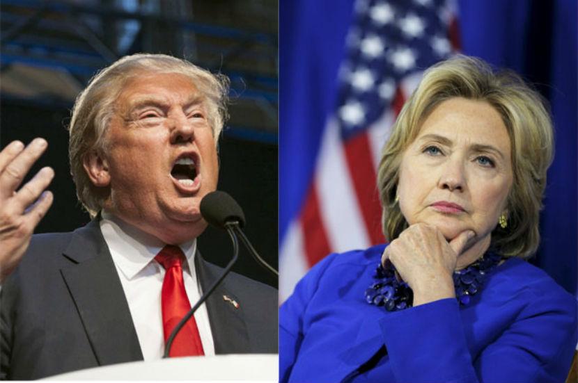 Трамп и Клинтон стали самыми популярными кандидатами в президенты