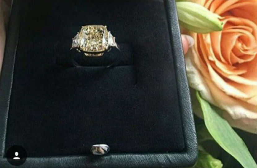 Тимати подарил на день рождения подруге-модели кольцо за 270 тыс. долларов
