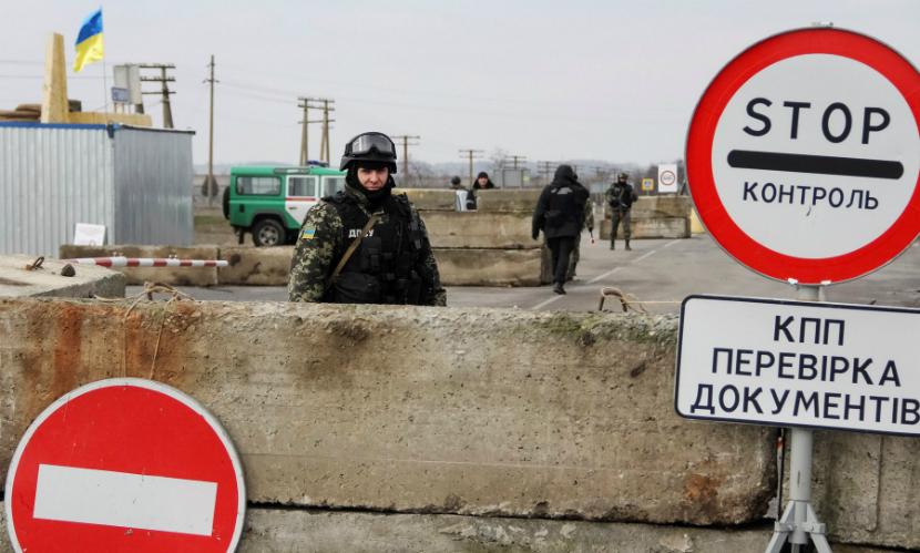 Украина ввела продуктовые санкции против России