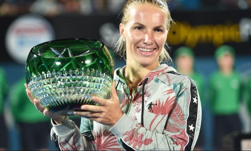 Теннисистка Кузнецова на турнире в Сиднее испугала Пуиг и заработала почти $130 тысяч