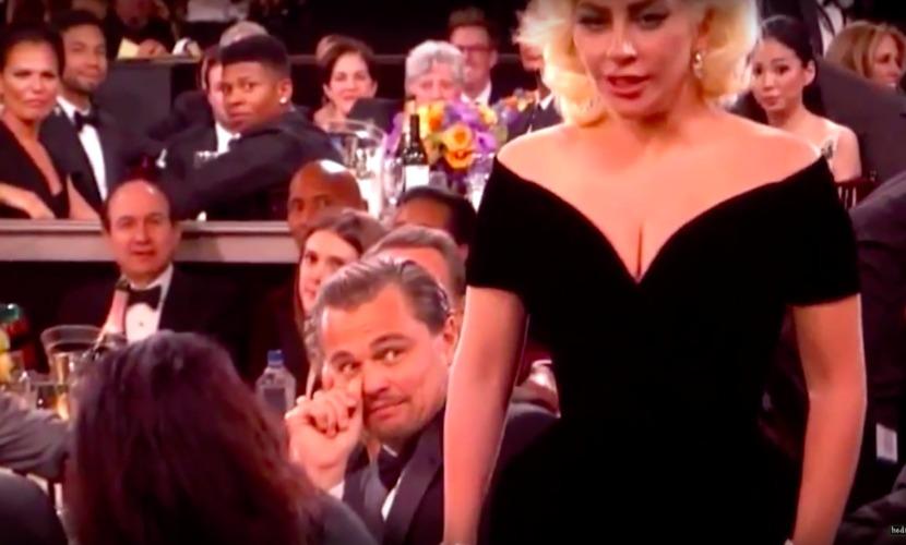 Леди Гага не по-дружески обошлась с Ди Каприо и отметила потом