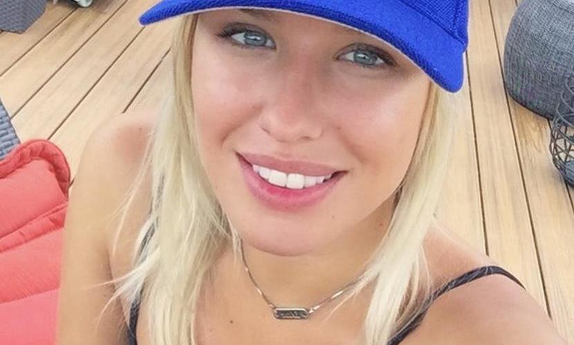 Красавица-модель устроила бурное домашнее насилие над звездой НХЛ