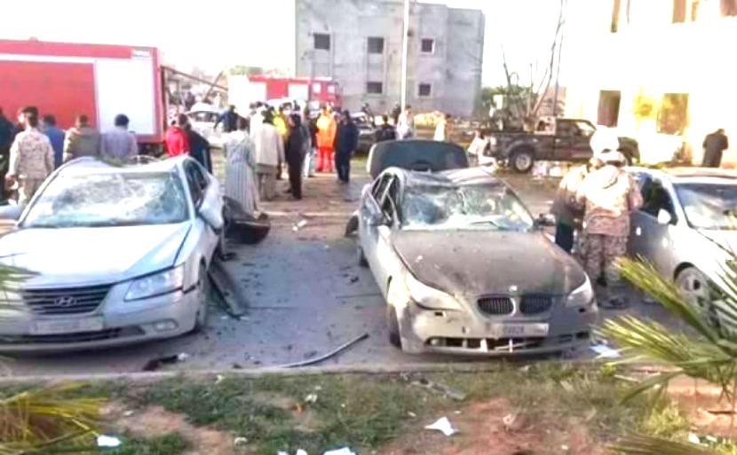 Подрыв грузовика в Ливии унес полсотни жизней