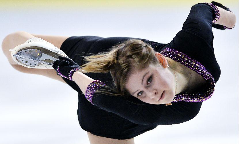 Юлия Липницкая после болезни вернулась на сочинский лед и рассказала о море