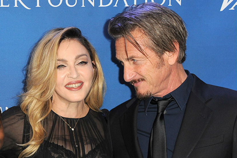 Мадонна воссоединилась с Шоном Пенном