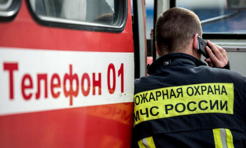 Церковь с прихожанами загорелась во время богослужения под Екатеринбургом