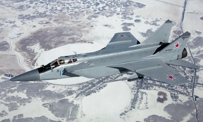 Истребитель-перехватчик МиГ-31 потерпел крушение в Красноярском крае
