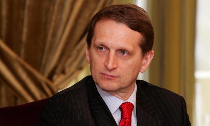 Нарышкин заявил о своем желании участвовать в выборах в Госдуму