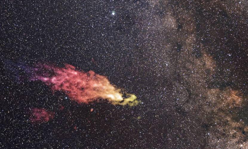 Гигантское облако-монстр летит к нашей Галактике, - NASA