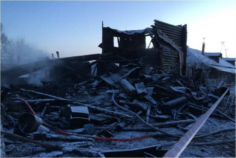 Опубликован список погибших на пожаре в Ярославской области
