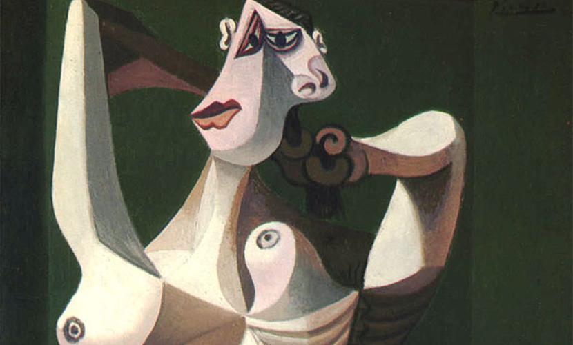 Картина Пикассо «Обнаженная женщина, расчесывающая волосы» была обманом добыта полицейскими
