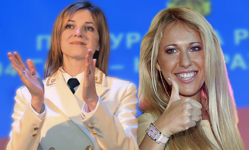 Поклонская назвала Собчак «очень симпатичной девушкой» и возмутилась провокатором