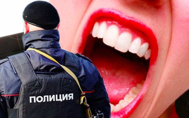 17-летняя девушка искусала и избила полицейских в Череповце