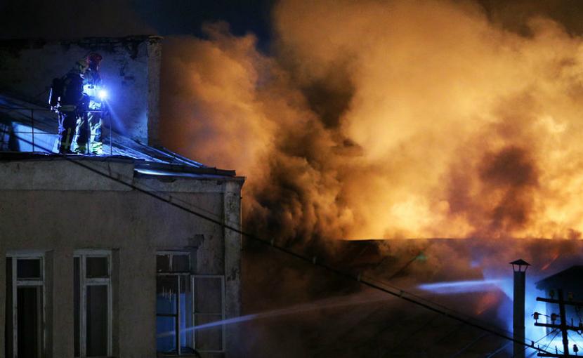 Одной из жертв пожара в швейном цеху на Стромынке стал грудной ребенок