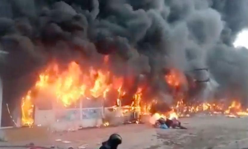 В Одессе сгорели бутики, и пострадали люди из-за опоздания пожарных