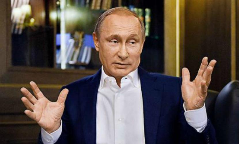 Путин назвал фальшивками видео с ударами российской авиации по позициям повстанцев в Сирии