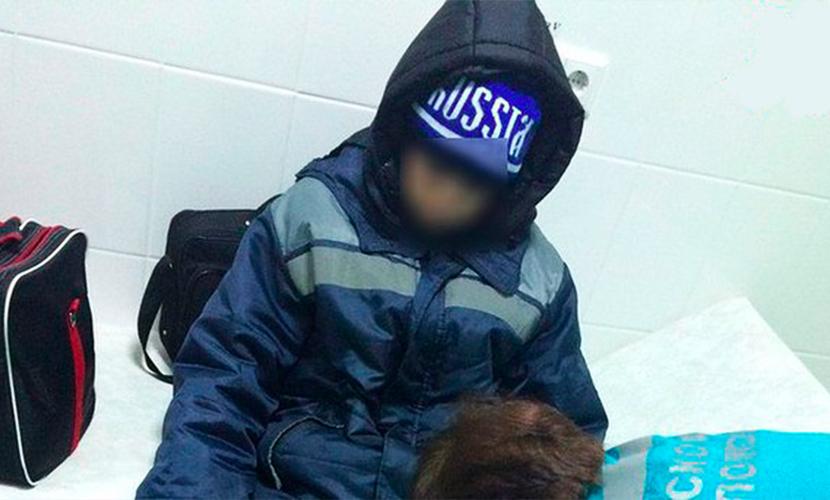 Замерзающего в сугробе ребенка чудом спасли полицейские Татарстана