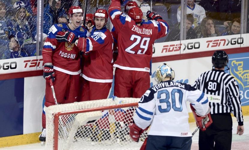Букмекеры в финале молодежного ЧМ по хоккею решили сборную России фаворитом не считать