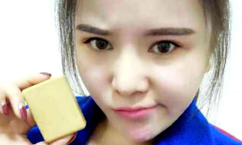 Похудевшая китаянка сделала мыло из собственного жира для экс-возлюбленного