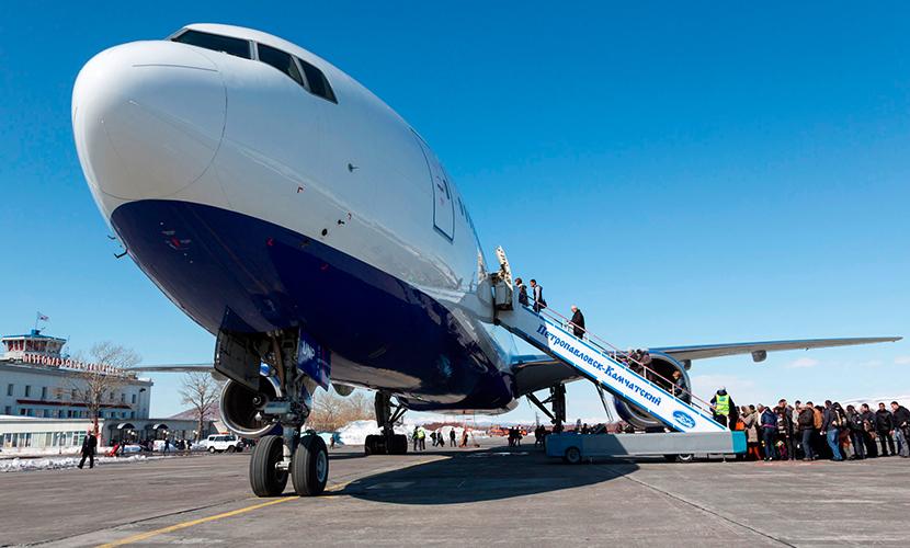 Пьяный пассажир угрожал взорвать самолет, летящий на Камчатку