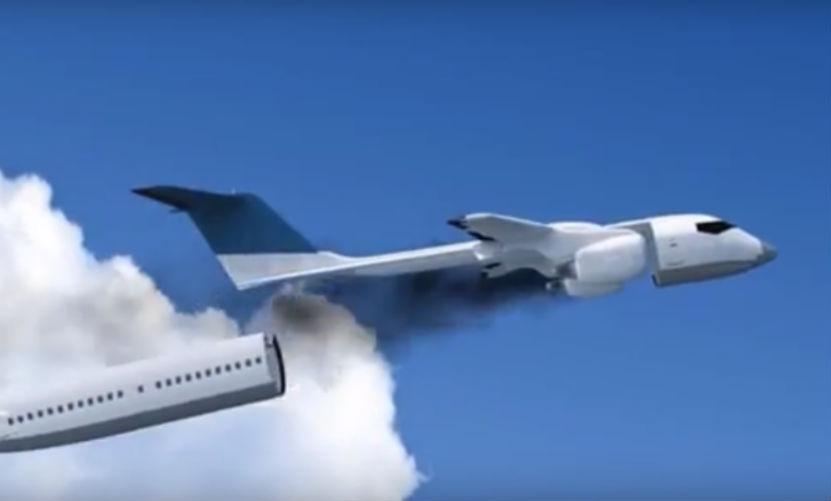 Украинский инженер изобрел самолет, отцепляющий кабину при крушении