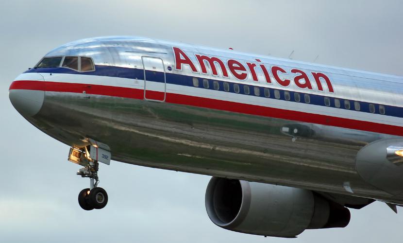 Самолет American Airlines произвел вынужденную посадку из-за раненых пассажиров