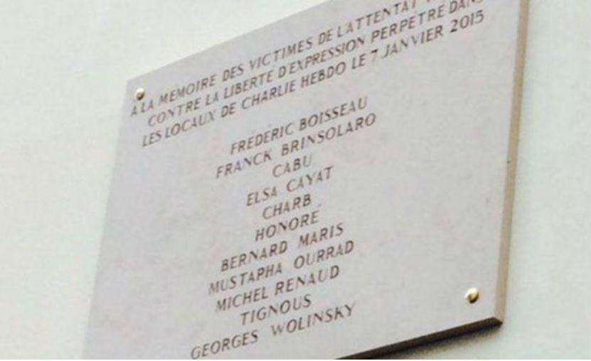 В Париже с ошибкой почтили память погибших от рук террористов журналистов Charlie Hebdo