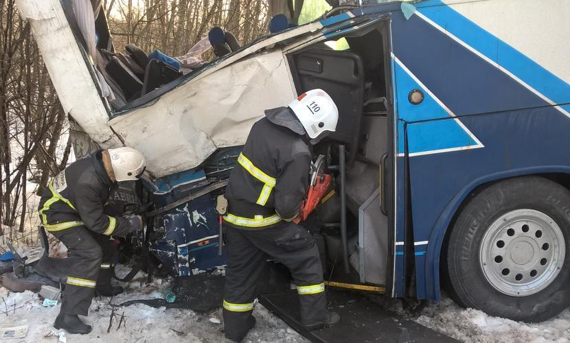 Опубликован список пострадавших пассажиров туристического автобуса в ДТП с грузовиком на трассе «Скандинавия»