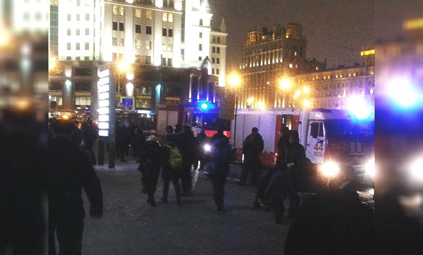 В Москве эвакуирован Павелецкий вокзал