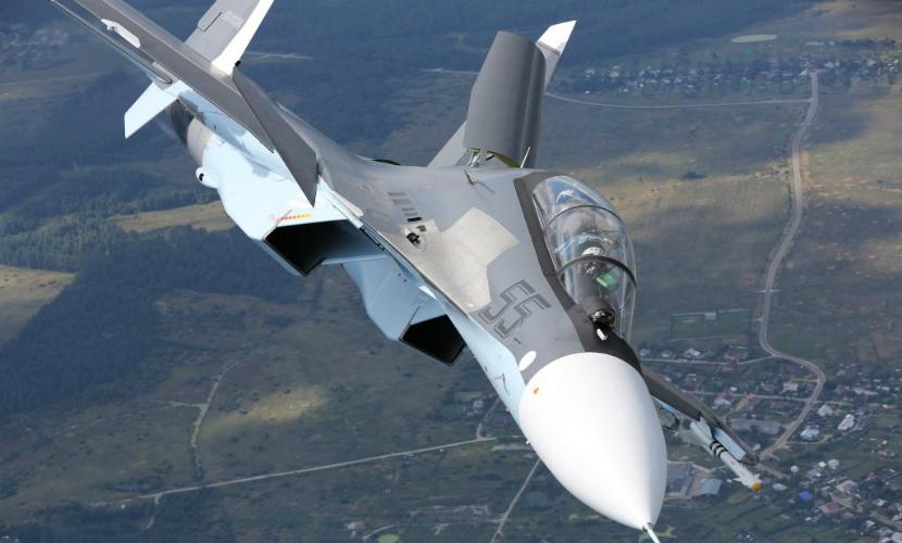 Крымская эскадрилья Су-30 получит новые самолеты в 2016 году