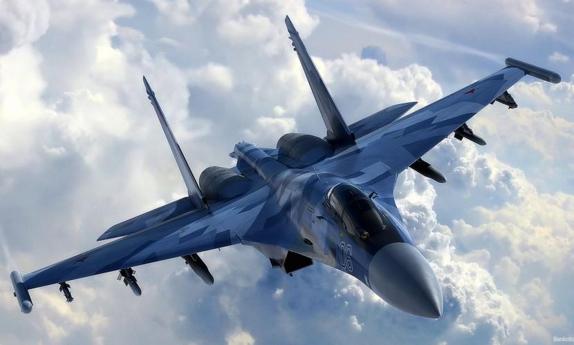 Истребитель ВКС России пролетел вблизи самолета ВВС США над Черным морем