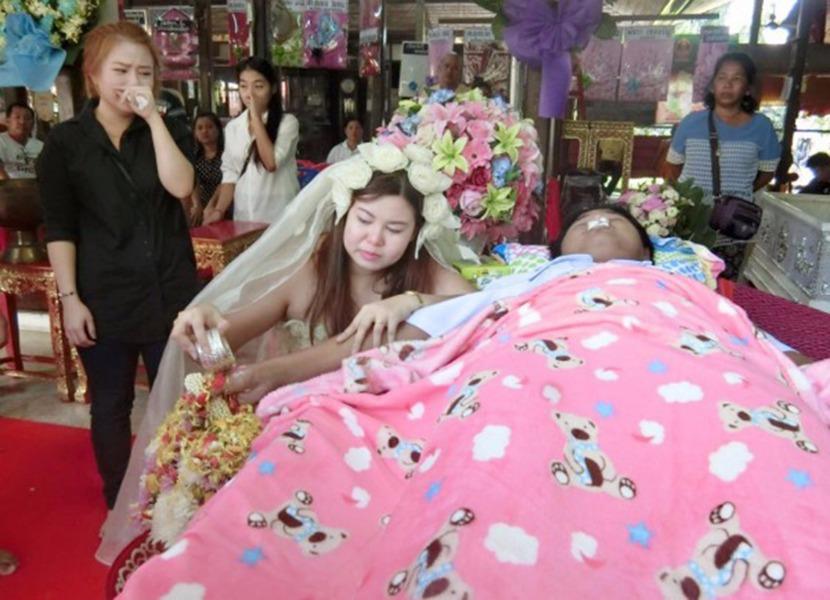 Фото похороны невесты