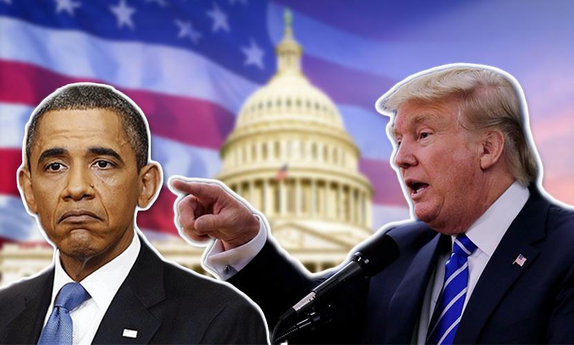 Трамп во время теледебатов республиканцев назвал Обаму слабаком и глупцом