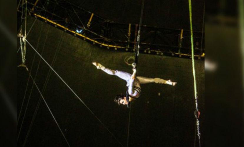 Гимнастка, сорвавшаясяиз-подкупола кировского цирка, пообещала вернуться на арену