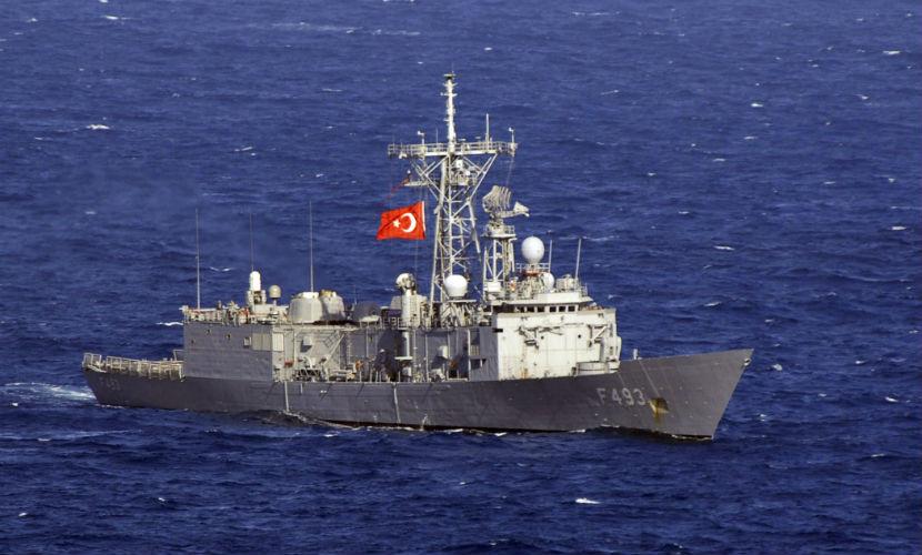 Грузия задержала турецкий корабль за загрязнение Черного моря