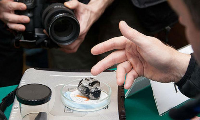 Уральские ученые столкнулись в Антарктиде с загадочными метеоритами