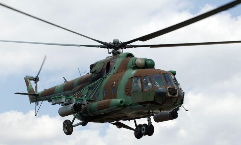 Вертолет Ми-8 вылетел забрать летчиков разбившегося близ Канска истребителя МиГ-31