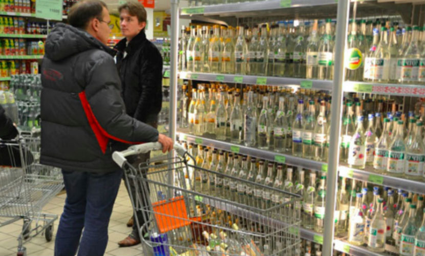 Производители алкоголя хотят поднять цену на водку в России