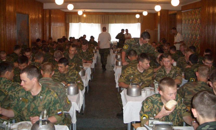 Военных на юге России решили спасать от гриппа салом, луком, чесноком и лимонами