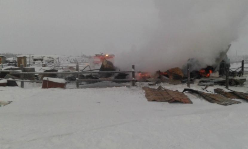 Женщина с четырьмя детьми сгорела в частном доме в Якутии