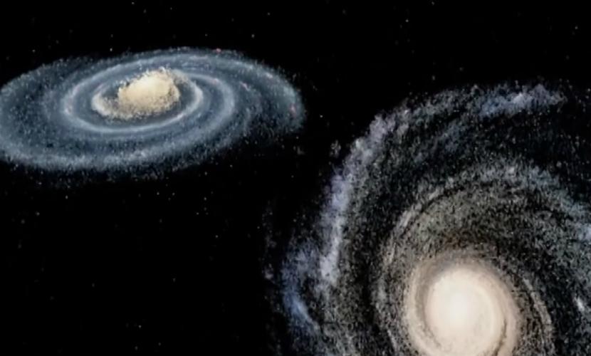 Трагическую гибель Земли через 4 млрд лет показал Роскосмос