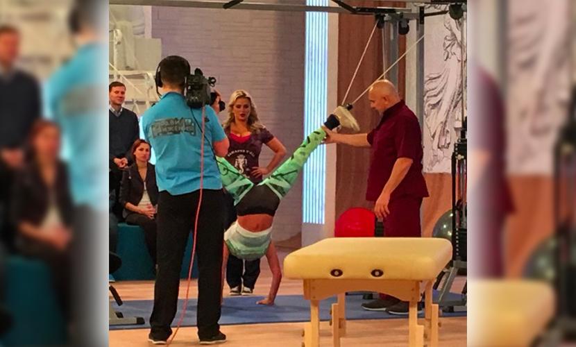 Семенович провела эксперимент на телевидении над знаменитой растяжкой Волочковой