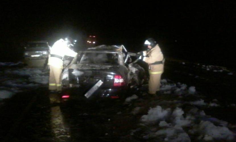В жуткой автоаварии в Дагестане погибли пять человек