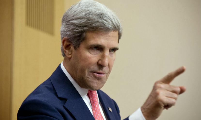 Скандалом закончился брифинг Джона Керри и главы МИД Италии