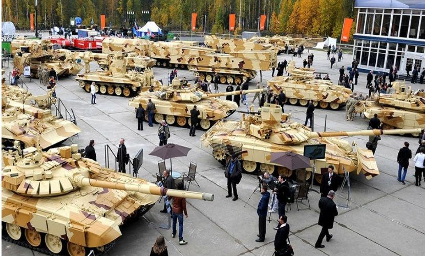 Россия заняла второе место в мире среди стран-экспортеров оружия