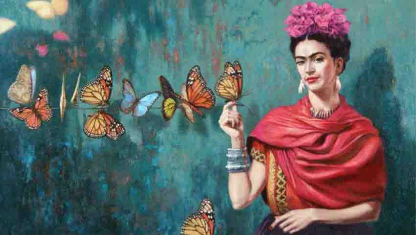 В Питере любители живописи повторили подвиг москвичей, устроив очередь на выставку Фриды Кало