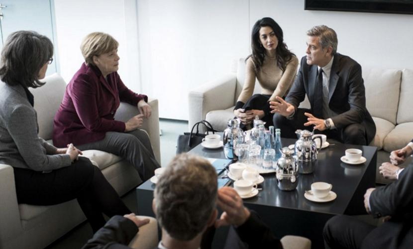 Вместо Ангелы Меркель миграционный кризис в Европе решит Джордж Клуни