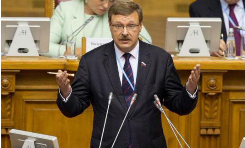 Украина устроила на дорогах провокацию для очернения России, - Косачев